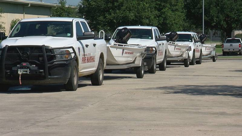 Urban Search and Rescue teams are the latest to leave Louisiana and head to Florida to help...