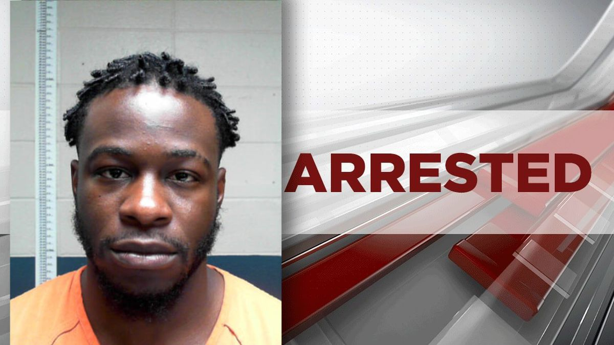 24-year-old Trevian D. Leary of Marshall, Texas, was arrested in Natchitoches Parish on Saturday.