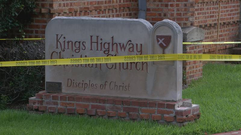 The Kings Highway Christian Church, which is almost 100 years old, was damaged Aug. 19, 2021...