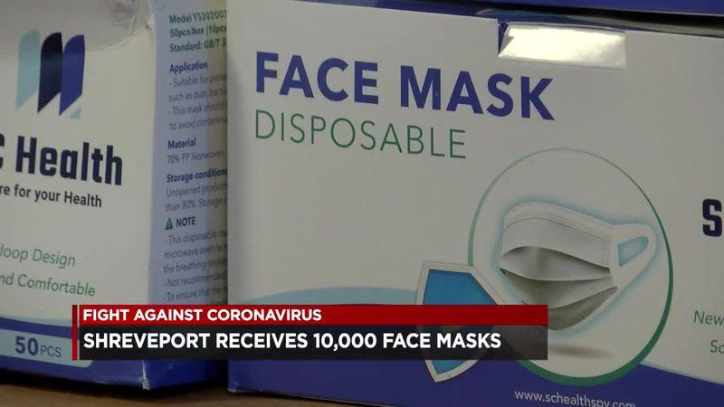 Shreveport partners with SC Health to provide 10,000 masks