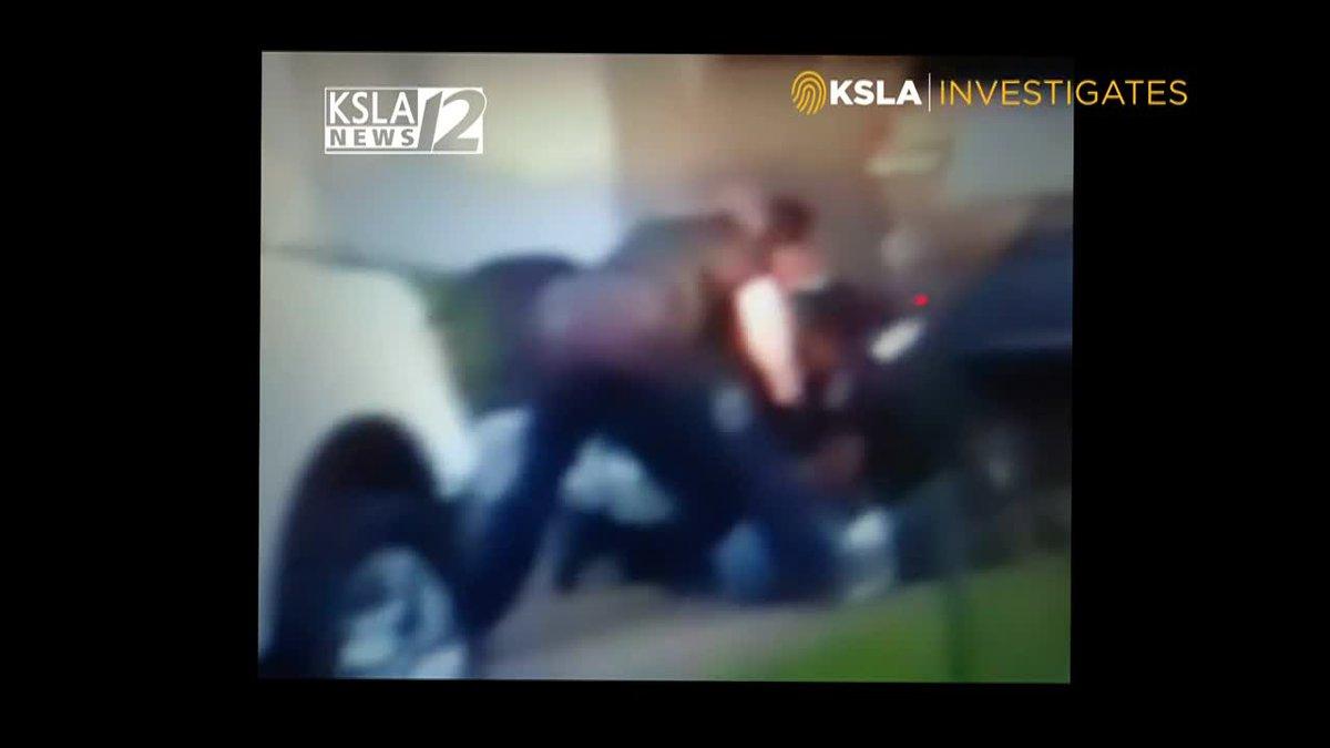 KSLA INVESTIGATES: Cell video emerges of McGlothen SPD encounter.
