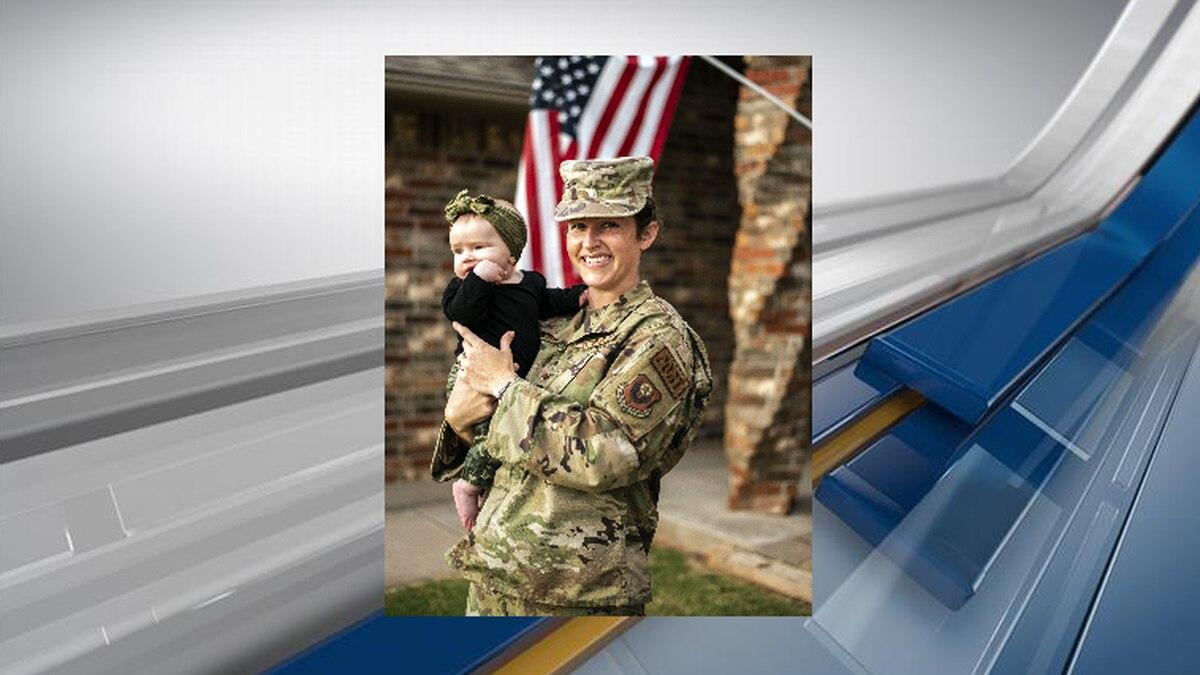Oklahoma Air National Guard Staff Sgt. Macey Winegarner (Oklahoma National Guard Photo By Sgt....