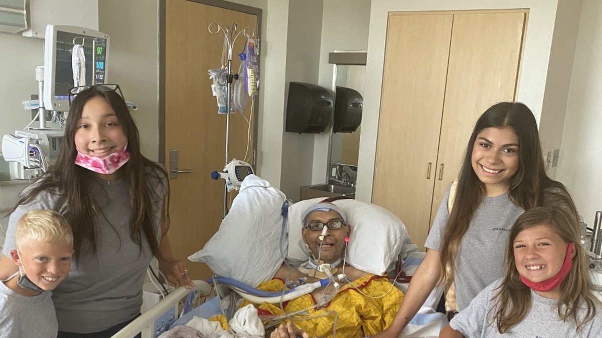Byron Bolanos, a respiratory therapist at Ochsner LSU Health Shreveport, is on his road to...