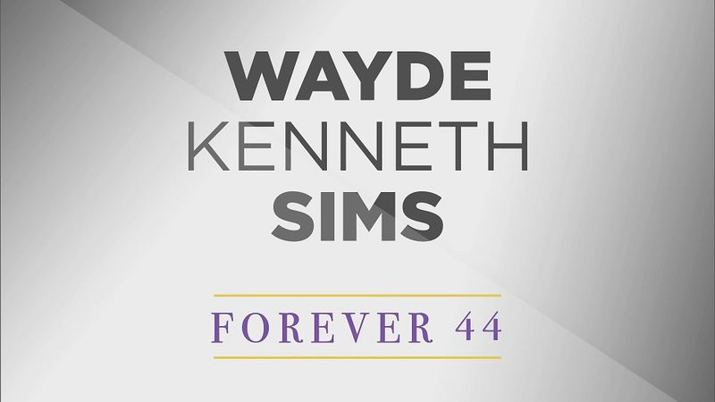 Wayde Sims' funeral was held on Saturday, October 6 at Healing Place Church in Baton Rouge.