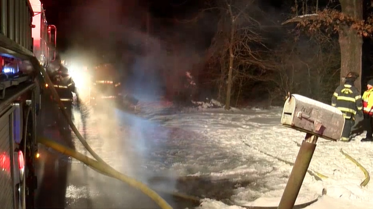 Crews are working to learn more about a fire that destroyed a home on Feb. 16
