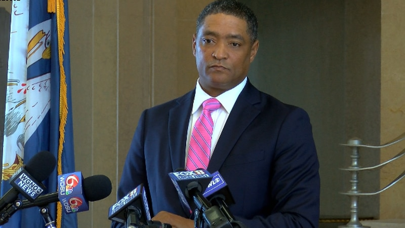 Congressman Cedric Richmond of New Orleans announces he will leave Congress to be a senior...
