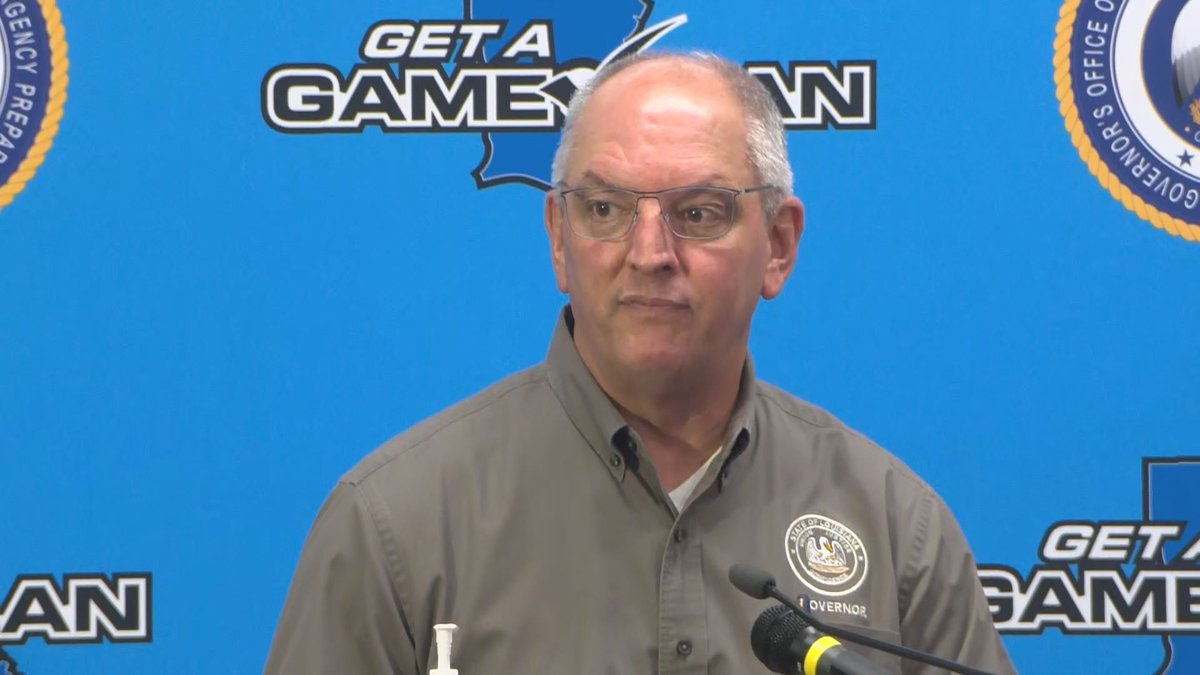 Gov. Edwards to hold press conference on Hurricane Ida recovery