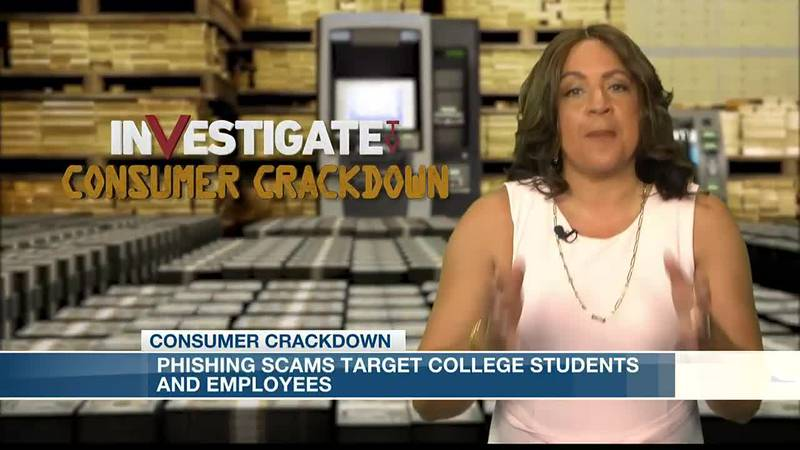 KSLA Investigates: Phishing scams target college students, employees