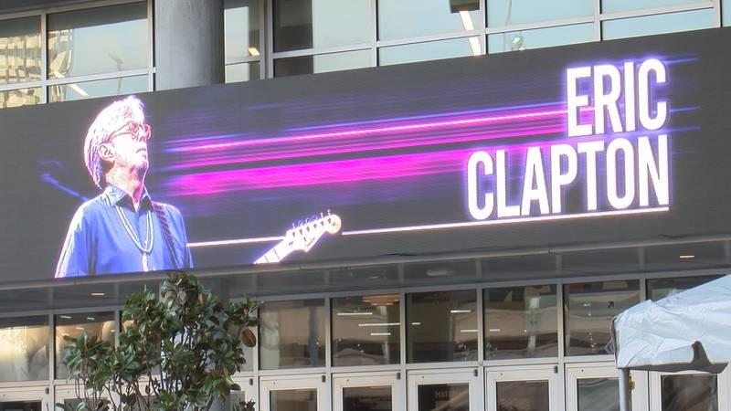 Eric Clapton Smoothie King Center Concert