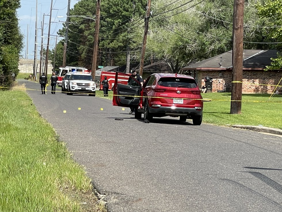 One person was shot in the leg on Watts Road in Shreveport, La. on Monday, July 26, 2021, the...