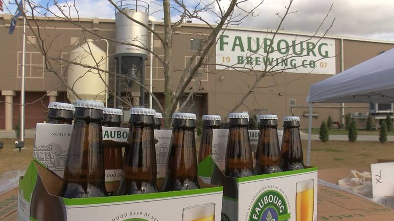 Dixie Brewery, bought by Saints and Pelicans owner Gayle Benson, will now be named Faubourg...