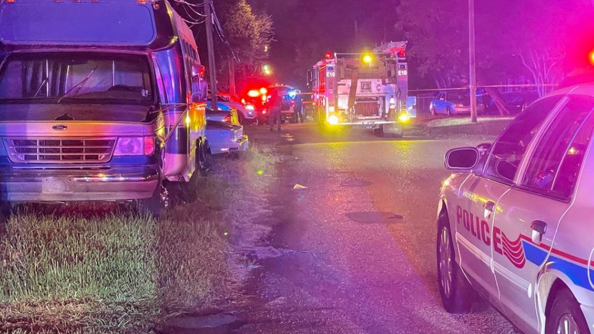 A child was fighting for his life after being accidentally shot in his head in a residence in...