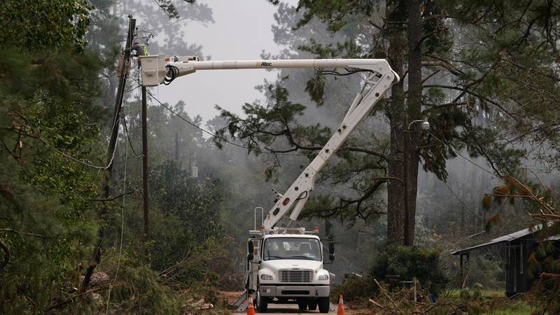 Entergy Louisiana said Tuesday (Sept. 14) it has restored power to 90 percent of customers...