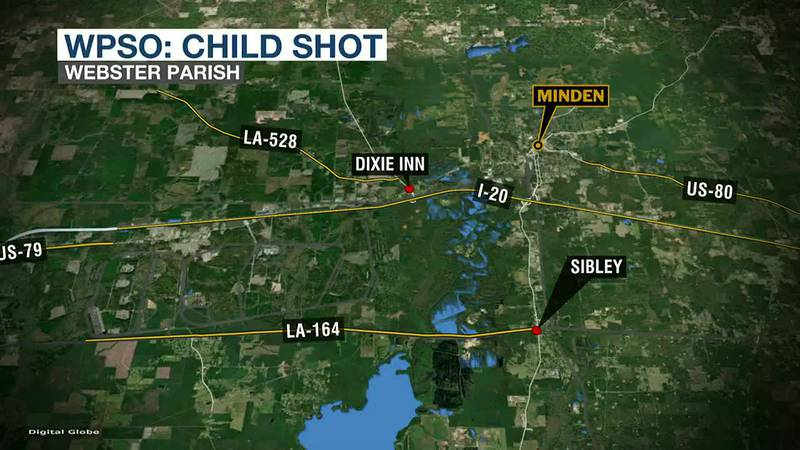 Child shot and killed in Minden