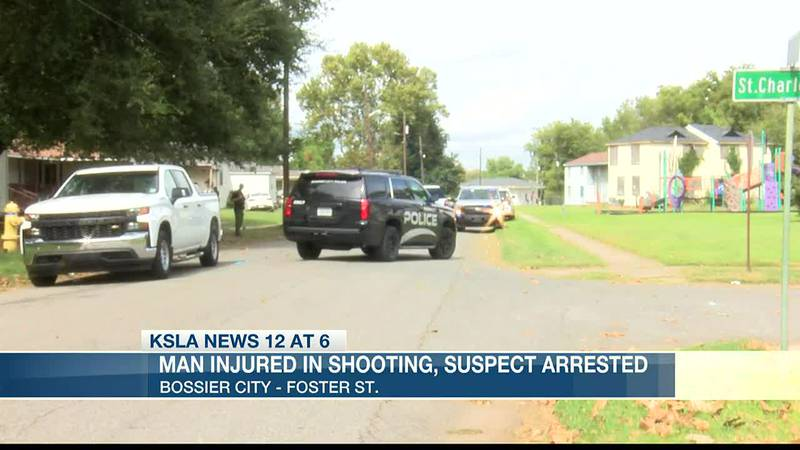 Man injured in shooting; suspect arrested