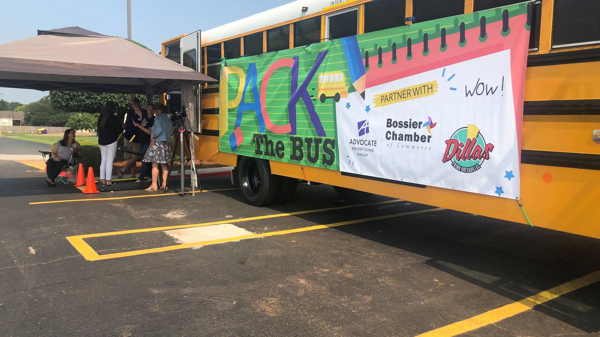 The Bossier Parish Chamber of Commerce is collecting school supplies to help out teachers.