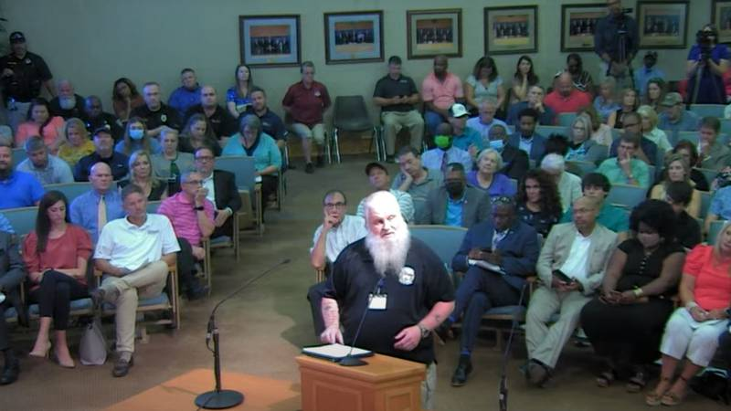The Bossier City Council meeting chambers were full when council members held their first...