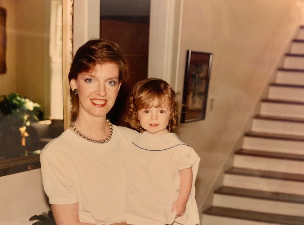 Sarah Lowder with her mother, Ellen Alley, a short few years before her breast cancer diagnosis.
