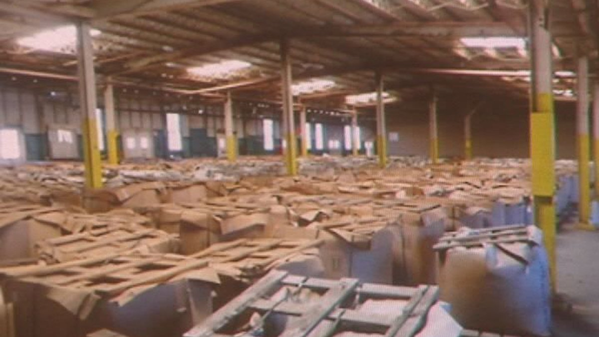 15 million pounds of M6 propellant was left behind at Camp Minden by the now bankrupt Explo....