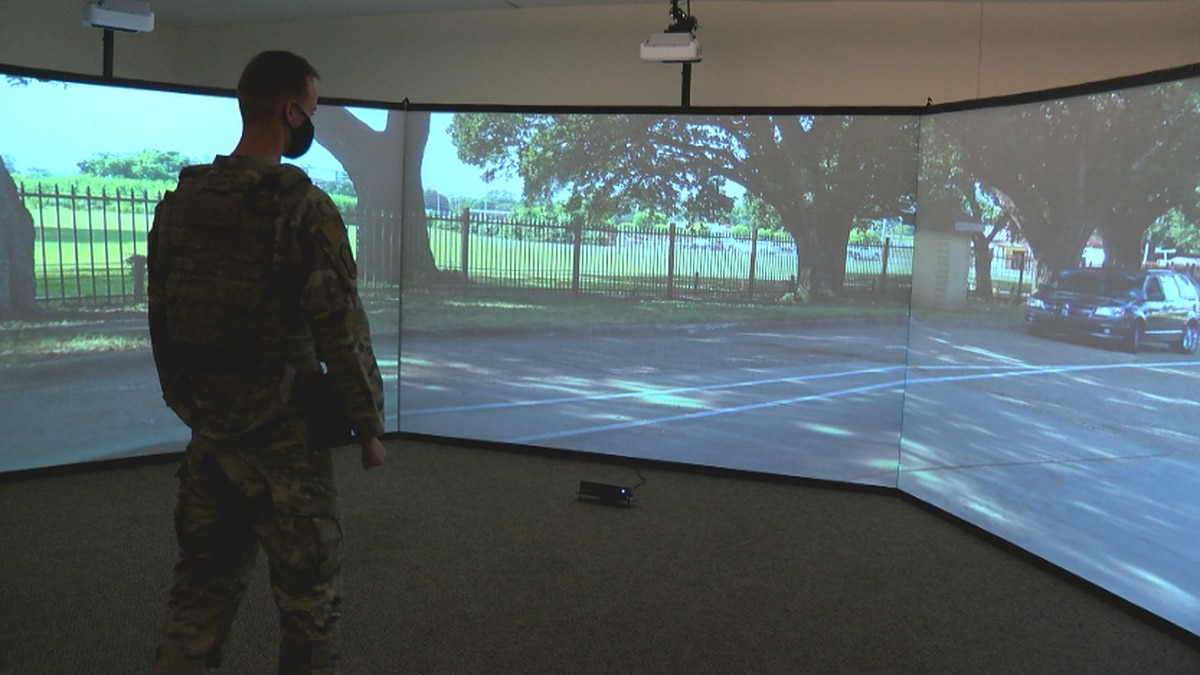 The 2nd Security Forces Squadron on Barksdale uses MILO, a virtual simulator to create...