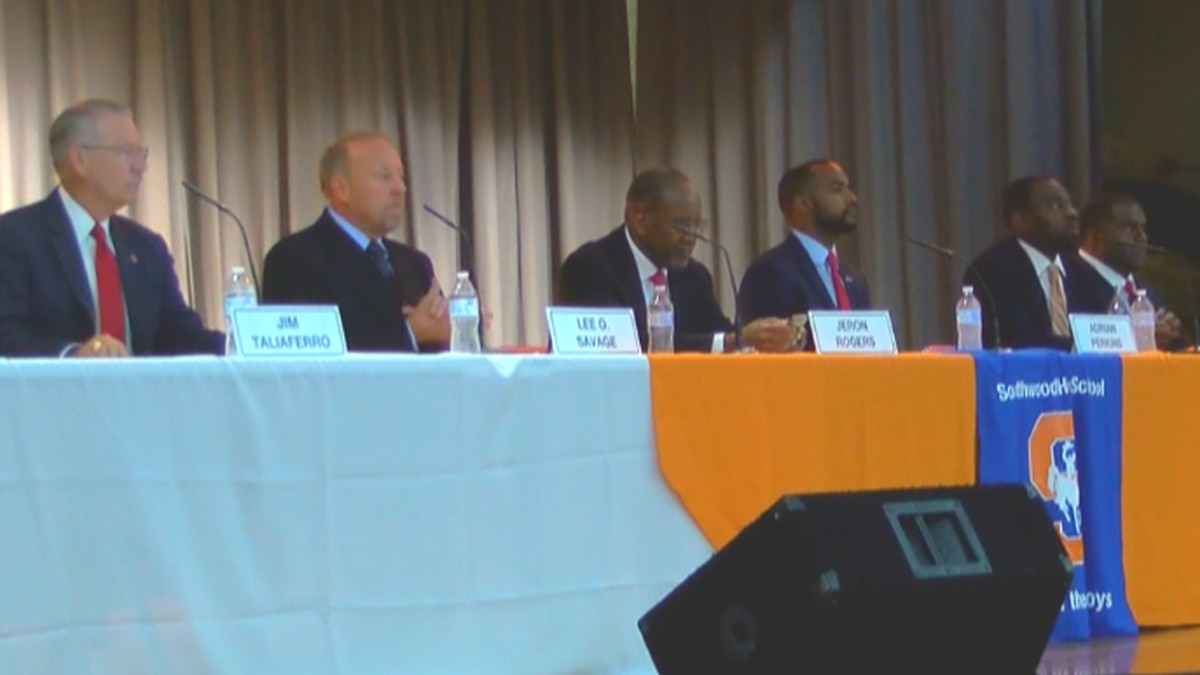 The Southern Hills Business and Home Associations hosted all 8 Shreveport mayoral candidates in...