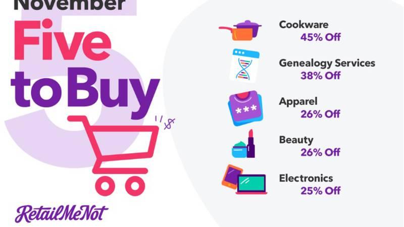 Five things to buy in November