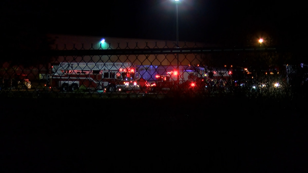 Crews responded to a fire at the old AT&T facility on Mansfield Road in Shreveport, La. on...