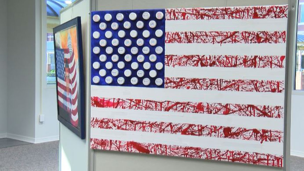 Bossier Parish Community College will unveil it's new military art exhibit to the public Monday...