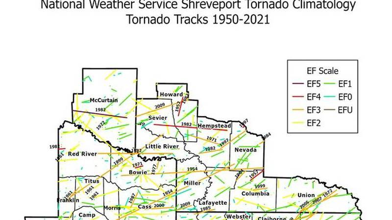 The National Weather Service office in Shreveport has a new interactive map available that...