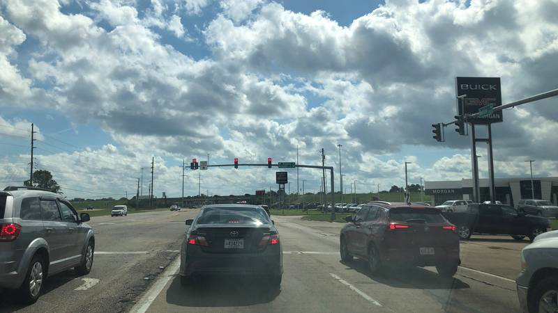 A road construction project at I-220 and Benton Road in Bossier Parish should alleviate...