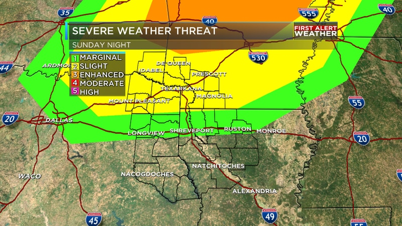 We are tracking the potential for strong storms to roll through the northern tier of the...