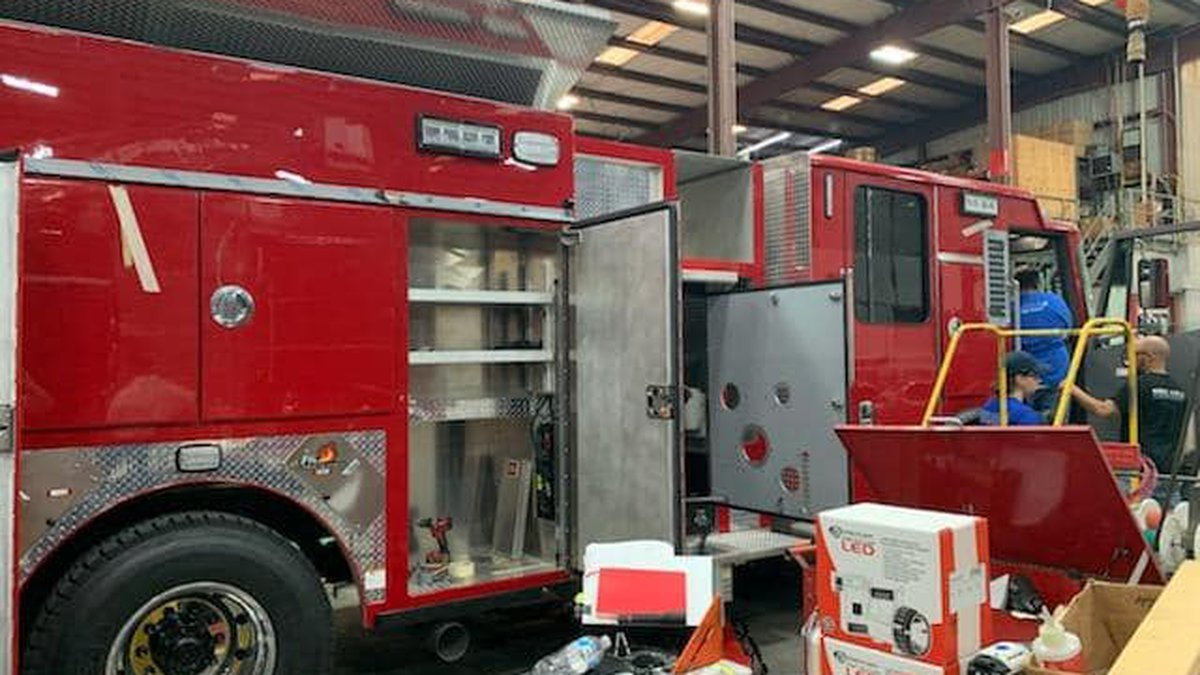 The Shreveport Fire Department will soon have three brand new trucks in operation.