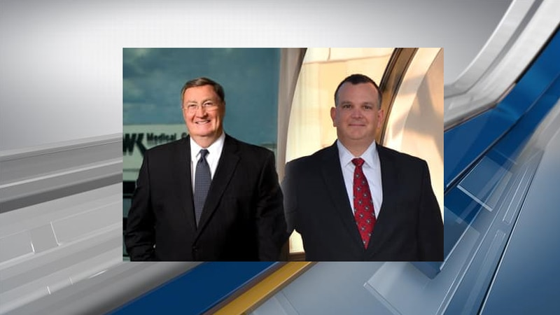 James K. Elrod (left) and Jerry A. Fielder II (right)