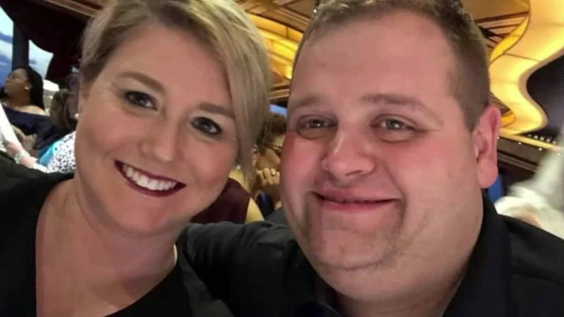 Corp. Hagler and wife Shalon