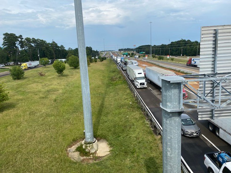 Seven wrecks in an hour on I-30 in Texarkana caused a major headache for drivers on Tuesday,...