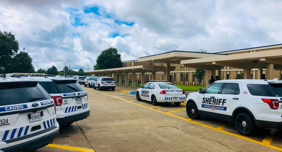 The Caddo Parish Sheriff's Office says eight female students were arrested Friday, Sept. 17,...