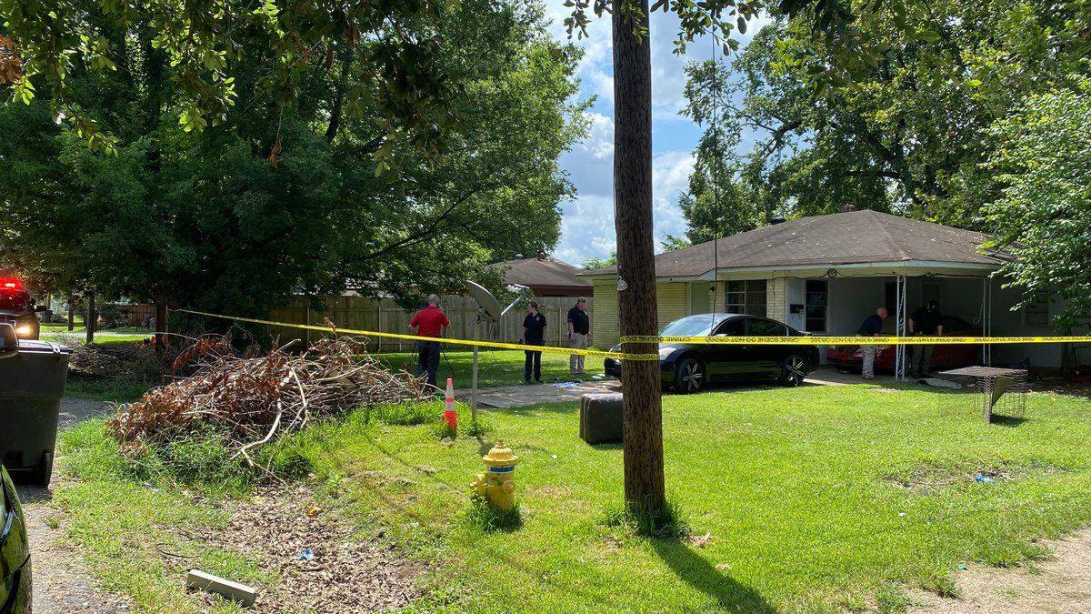 Police responded to this home in the 6100 block of Yarborough Street in Bossier City, La. after...