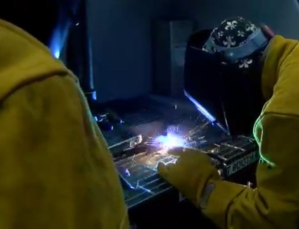 """""""Right now, the demand for welders is in this area. Many of the baby boomer welders my age are..."""