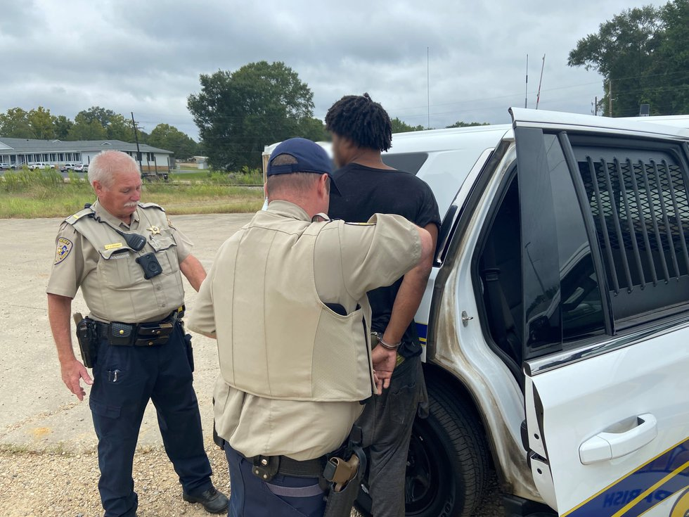 Two juveniles from Gauthier, Mississippi were arrested Thursday, Sept. 16, 2021 after a 19-hour...