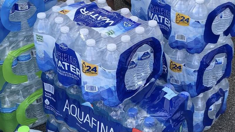 Huntsville church sends massive water bottle donation to Texas