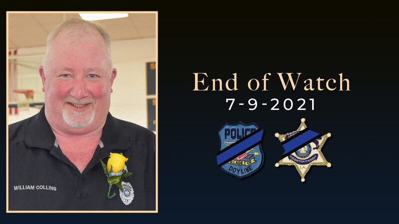 """Webster Parish deputy and Doyline officer, William """"Billy"""" Earl Collins Jr., was killed while..."""