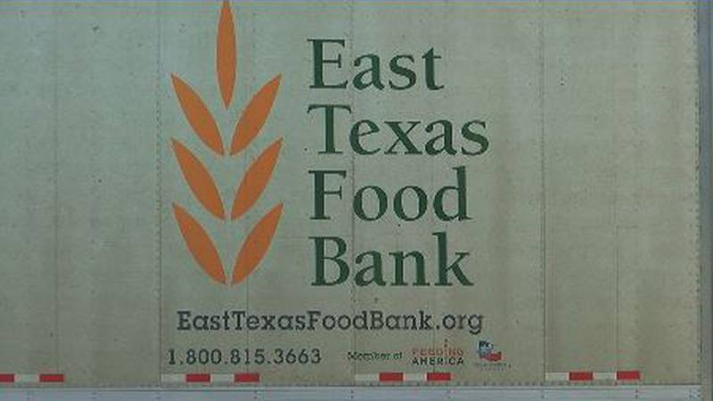 The East Texas Food Bank hosted another drive-through food distribution in Lufkin Tuesday,...